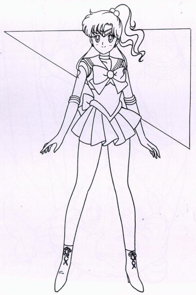 Dibujos para colorear de Sailor Moon ~ Sailor Moon Spain