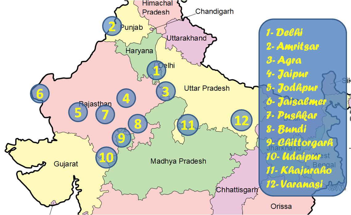 1afcd8b51b50e Guía de India (Norte) para mochileros