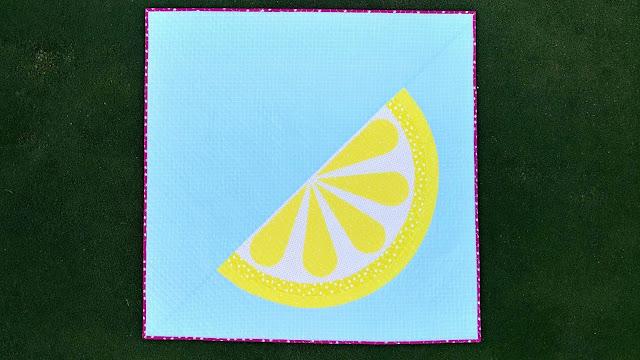 Just Add Sugar lemon quilt