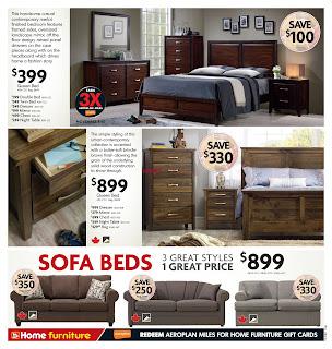 Home Furniture Flyer November 1 - 12, 2017
