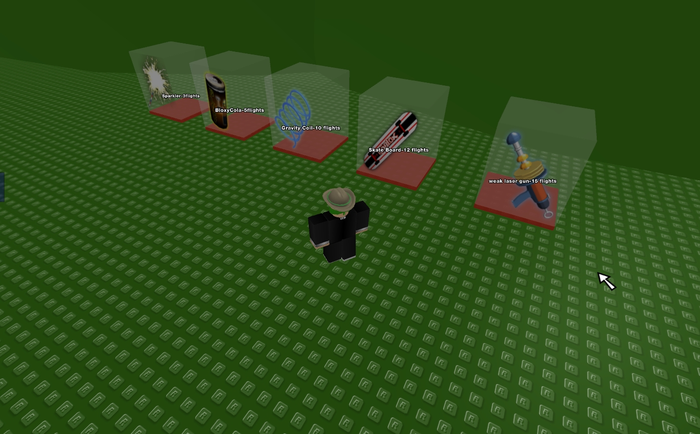 Another Way To Do The Hang Glider Skateboard Glitch In Robloxian - Roblox News July 2012