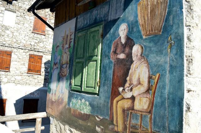 murales cibiana di cadore