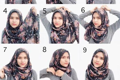 Kumpulan Jenis Model Jilbab Modern yang Simpel dan terlihat Cantik