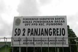 Profil Perpustakaan Sekolah SD Negeri 2 Panjangrejo, Desa Panjangrejo, Bantul Yogyakarta