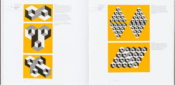 two pages of illustrations from Cut and Fold Techniques for Promotional Materials, Revised Edition