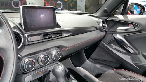 Fiat 124 Elaborazione Abarth Dash
