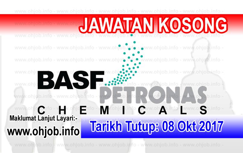 Jawatan Kerja Kosong BASF PETRONAS Chemicals logo www.ohjob.info oktober 2017