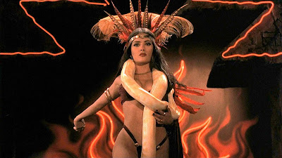 From Dusk Till Dawn 1996 movie still Robert Rodriguez Quentin Tarantino George Clooney Salma Hayek