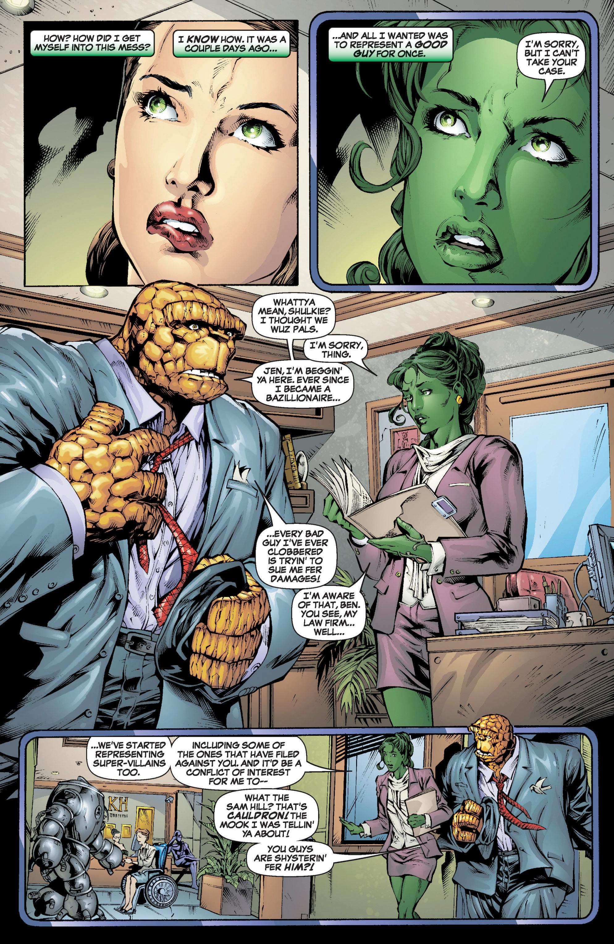Read online She-Hulk (2005) comic -  Issue #6 - 5