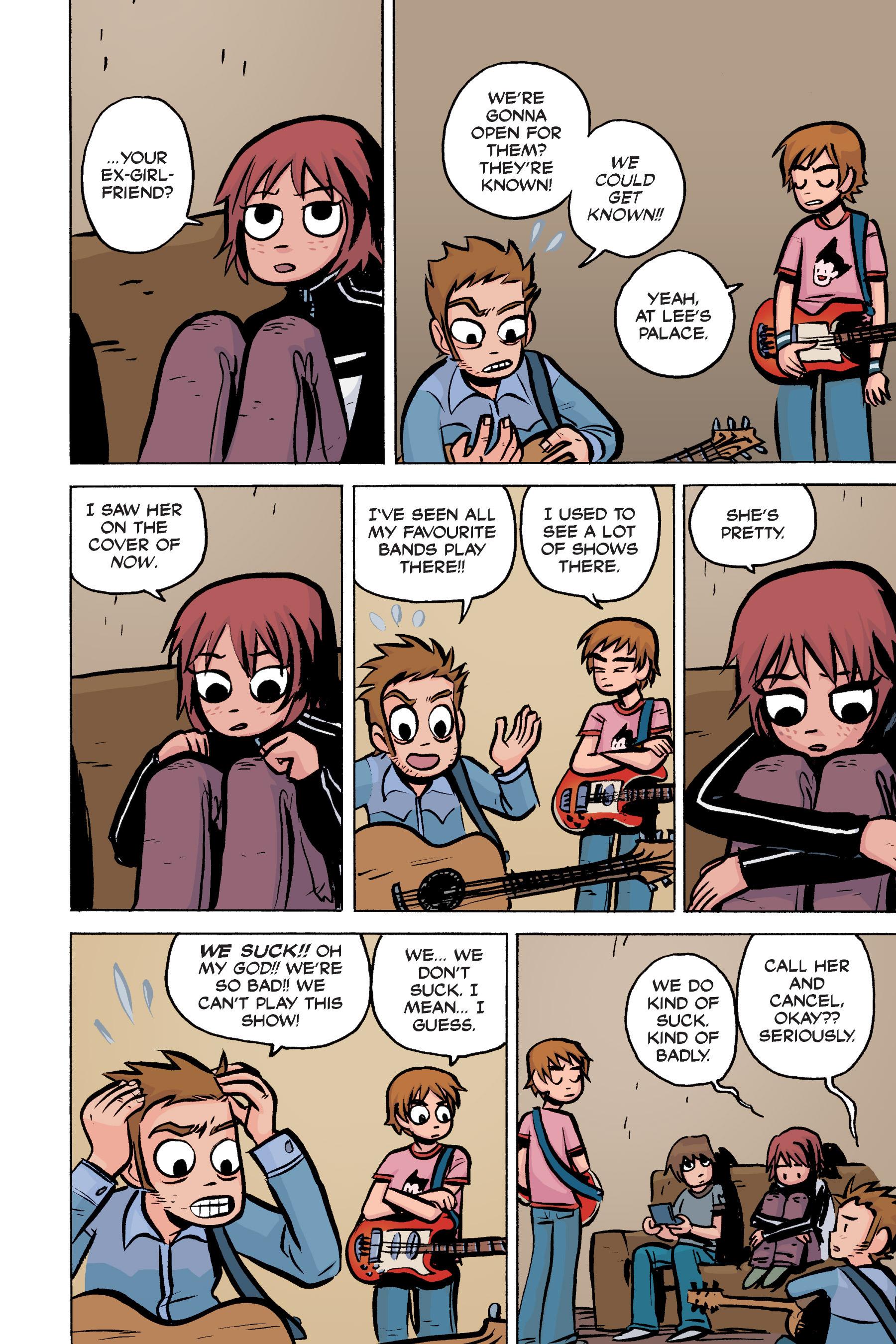 Read online Scott Pilgrim comic -  Issue #2 - 162