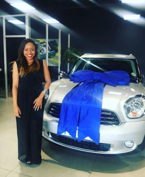 Karabo Ntshweng Blesses Herself With A Brand New Mini Cooper