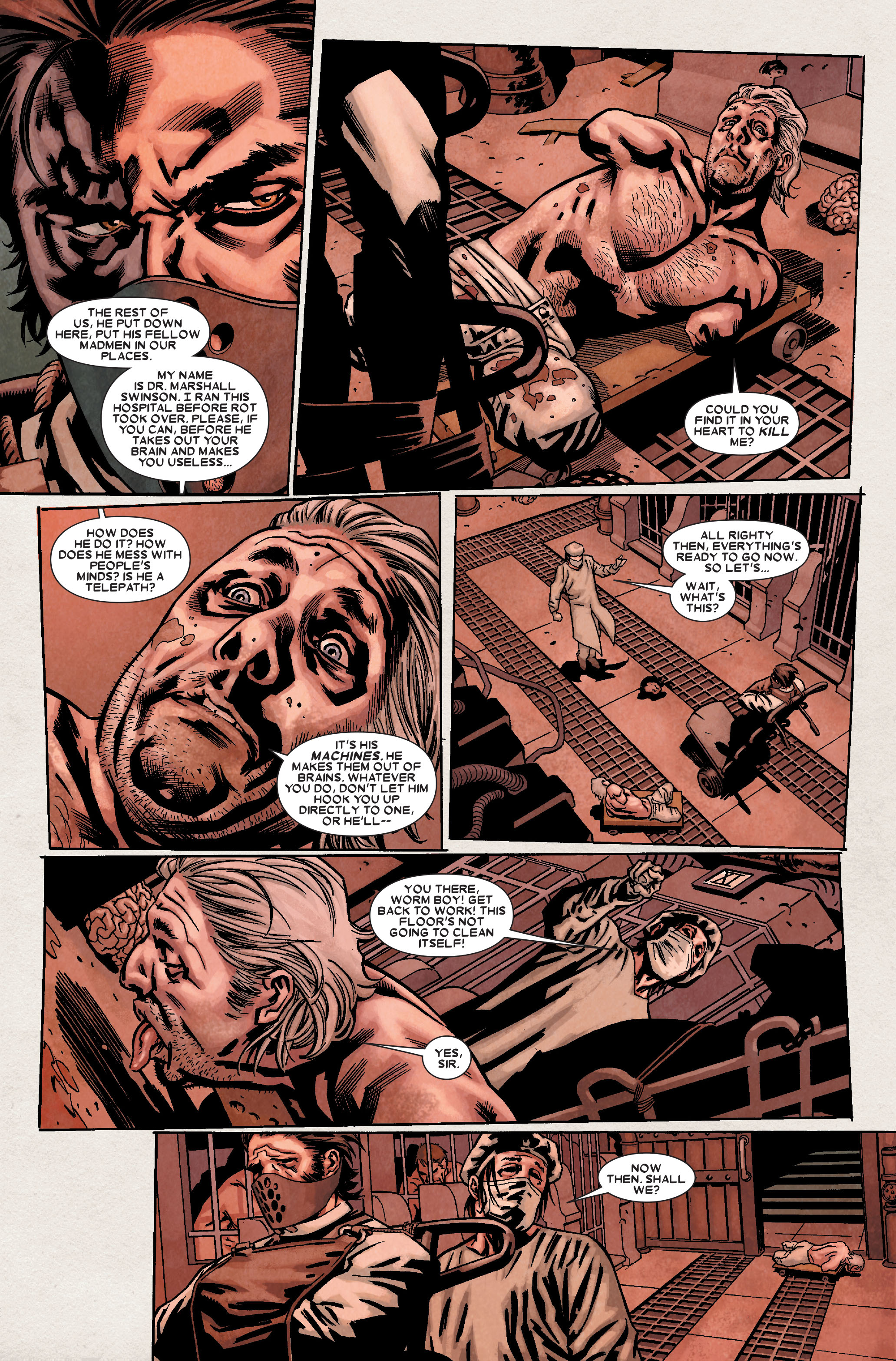 Read online Wolverine: Weapon X comic -  Issue #8 - 16