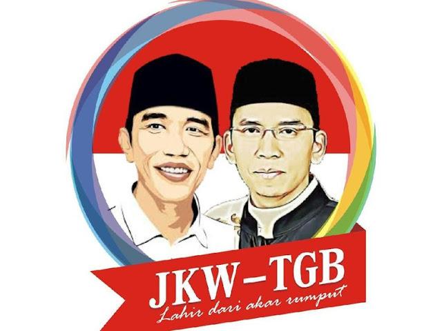 Beredar Poster Duet Jokowi-TGB Berslogan Ini