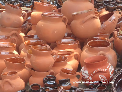 The Pottery Fair in Patzcuaro