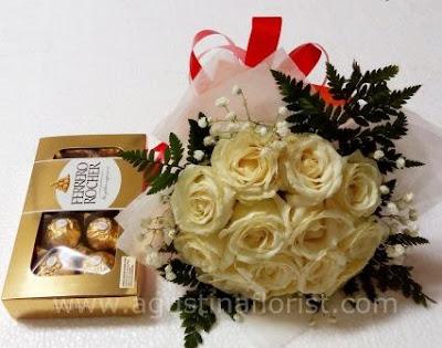 toko-bunga-surabaya-jual-buket-mawar-putih