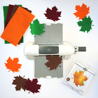 Sizzix Big Shot Foldaway and Maple Leaf Bigz Die