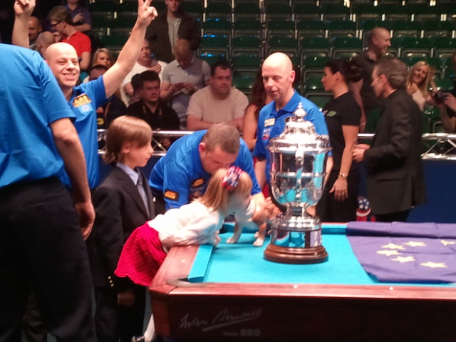 Pool is a Journey: 2011 Mosconi Cup TidBits