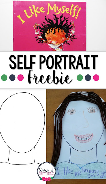 Build self confidence and a sense of classroom community with these FREE self portraits all about what each student likes BEST about him/herself.