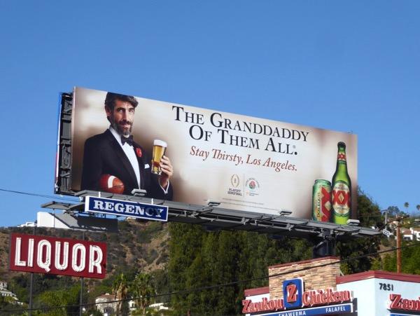 Dos Equis Granddaddy of them all billboard