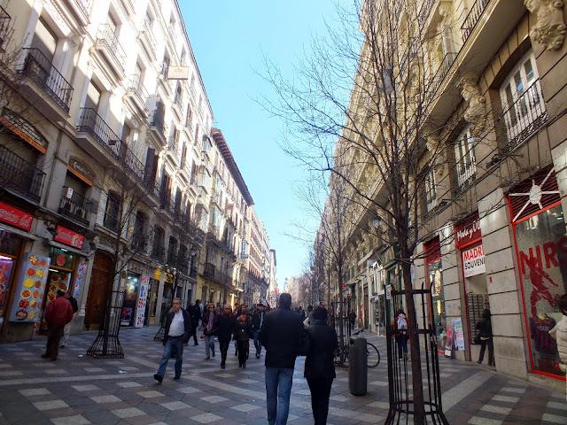 calle Arenal en Madrid