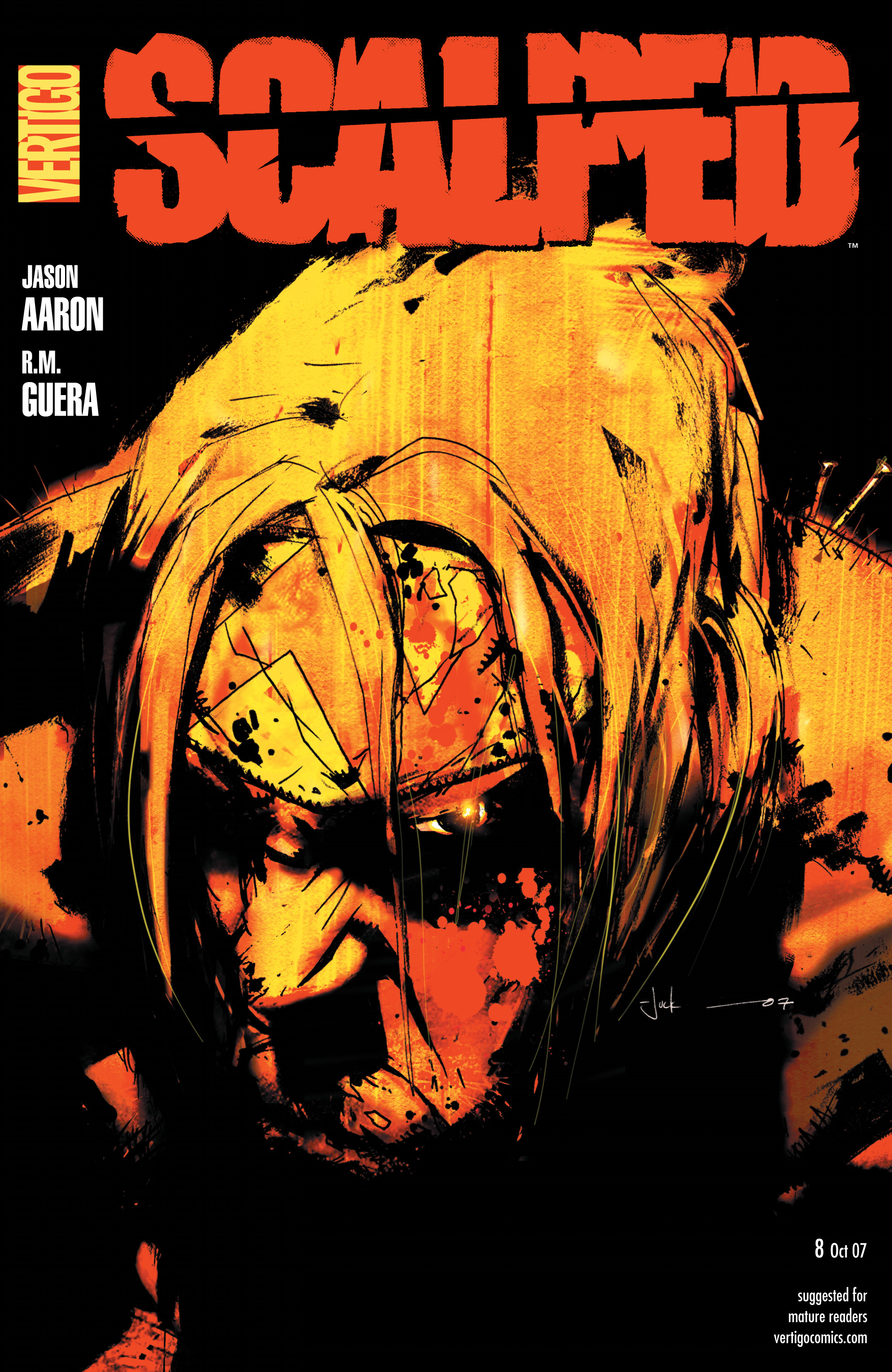 Scalped issue 8 - Page 1