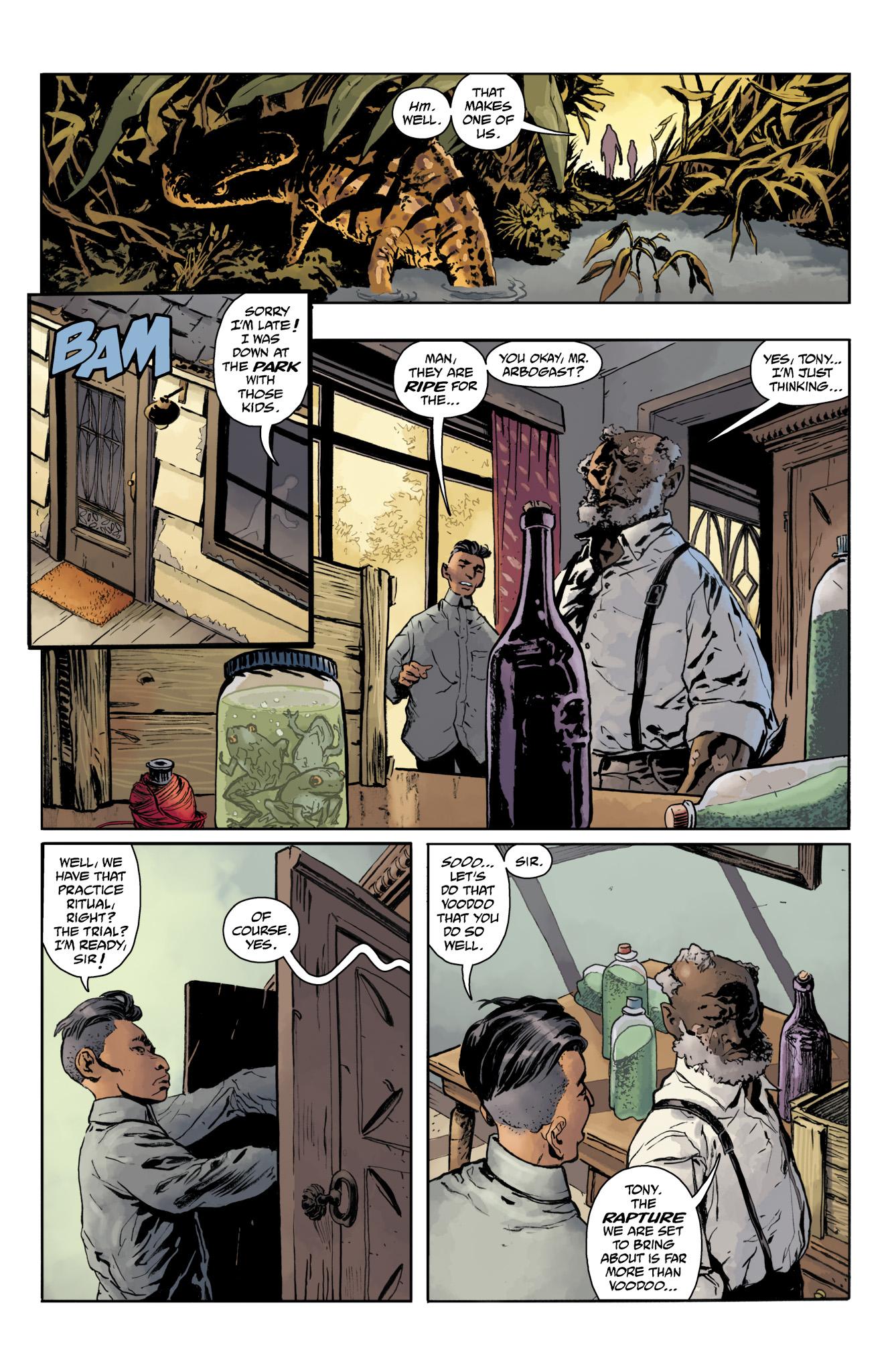 Read online Abe Sapien comic -  Issue #20 - 13