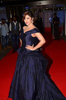 Payal Ghosh aka Harika in Dark Blue Deep Neck Sleeveless Gown at 64th Jio Filmfare Awards South 2017 ~  Exclusive 028.JPG