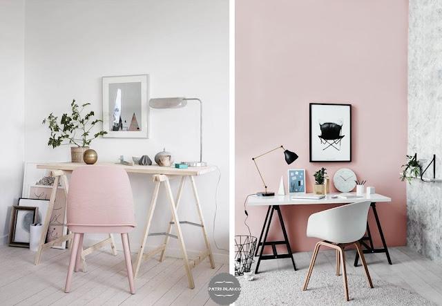 paredes rosas
