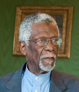 Bill Russell before his Presidential Medal of Freedom ceremony