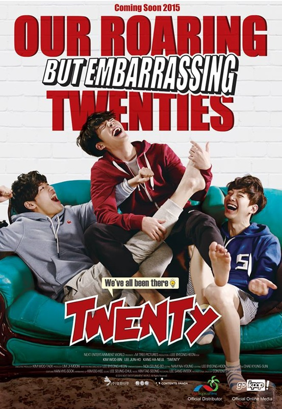 Twenty, filem, Korea, Kim Woo Bin, Kang Ha Neul, Lee Jun Ho, 2PM