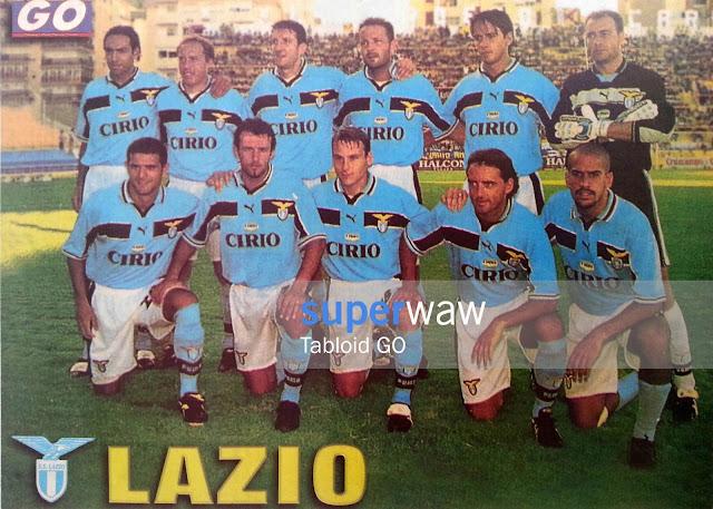 Poster Tim SS Lazio 1998
