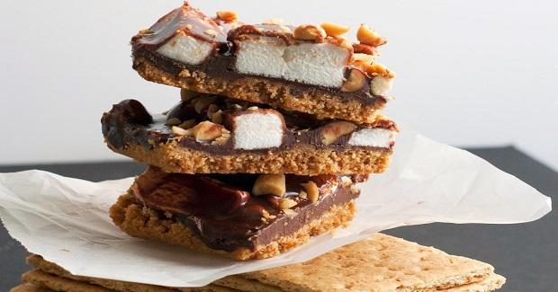 S'more Nut Bars Recipe