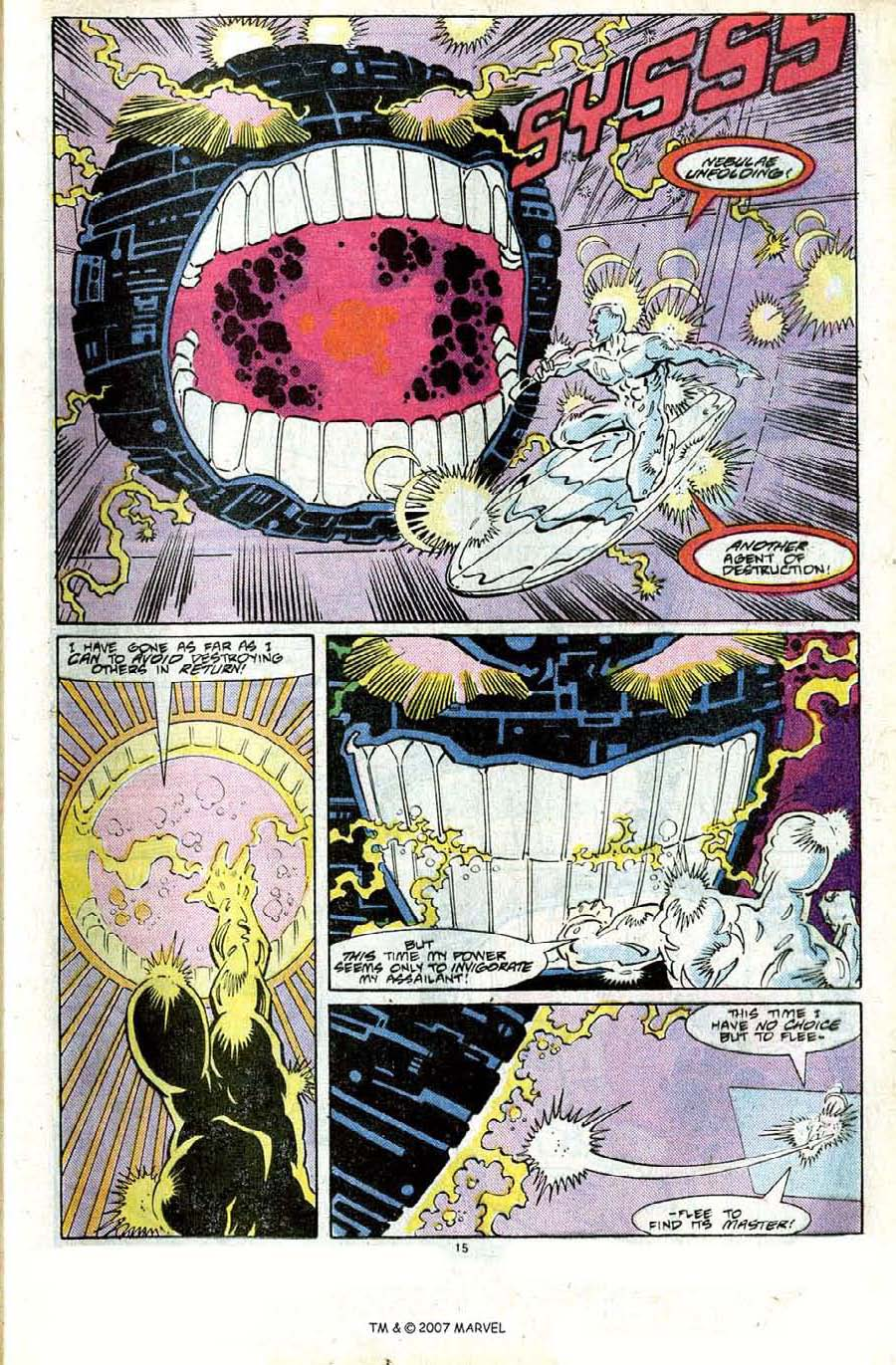 Read online Silver Surfer (1987) comic -  Issue #24 - 17
