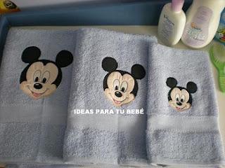 toallas infantiles mickey