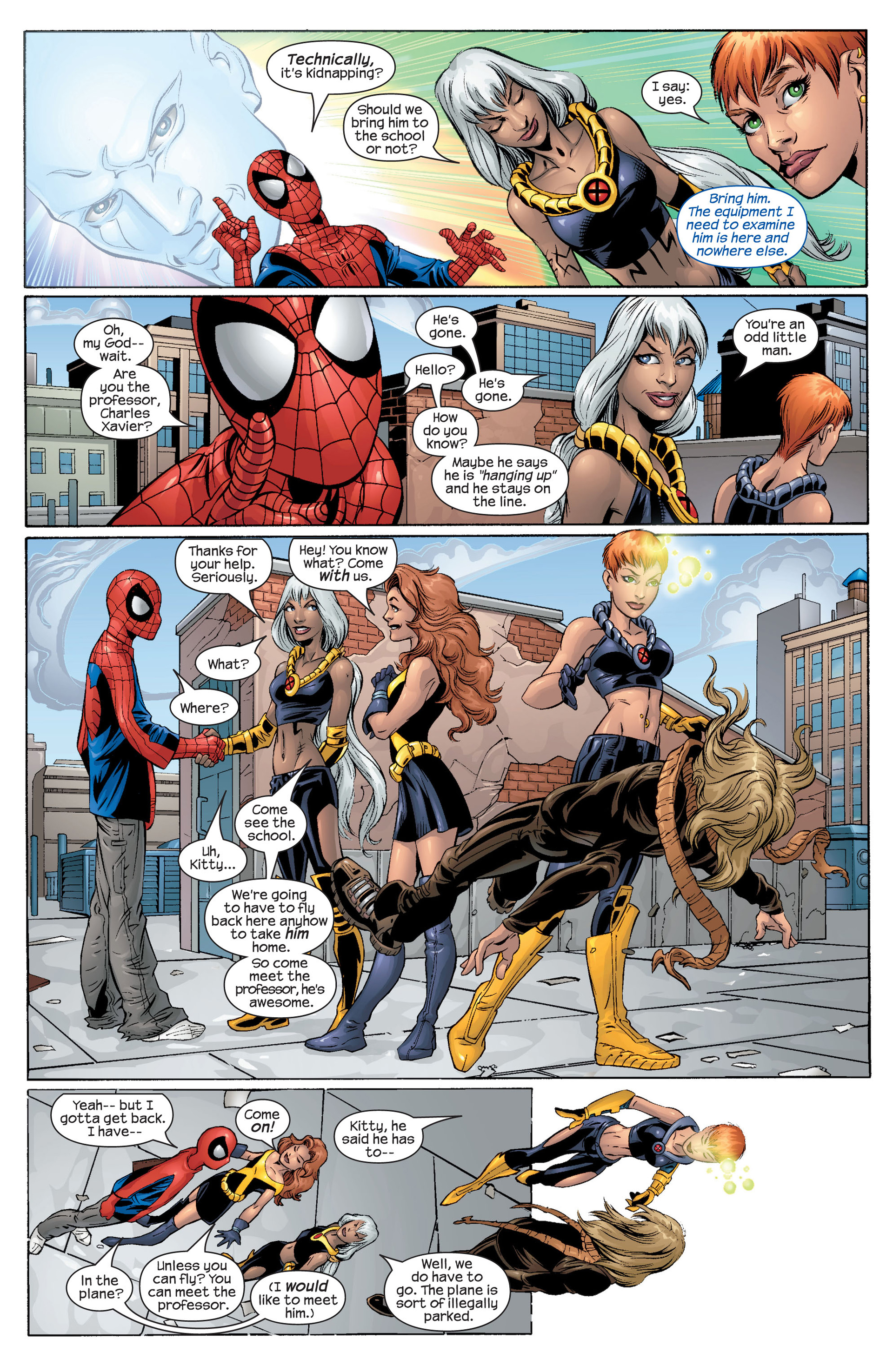 Read online Ultimate Spider-Man (2000) comic -  Issue #43 - 11