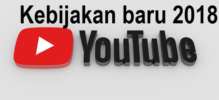 Kebijakan Baru Youtube 2018, Mendapatkan Uang Akan Lebih Sulit
