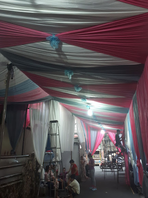 Tenda Pernikahan rumahan murah