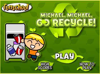 Resultado de imagen de reciclar basura juego