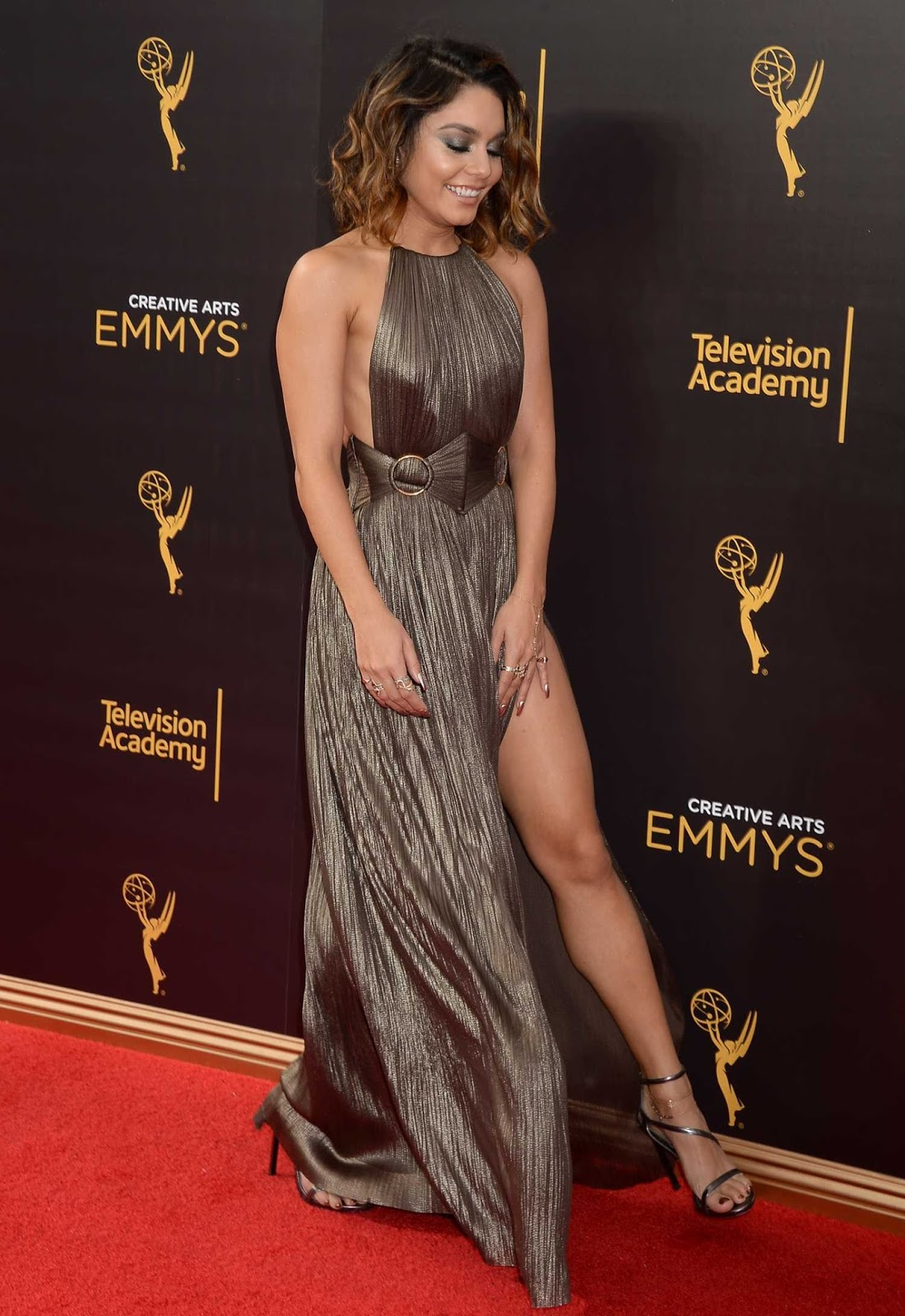Vanessa Hudgens at Creative Arts Emmy Awards in LA