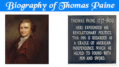 Biography of Thomas Paine