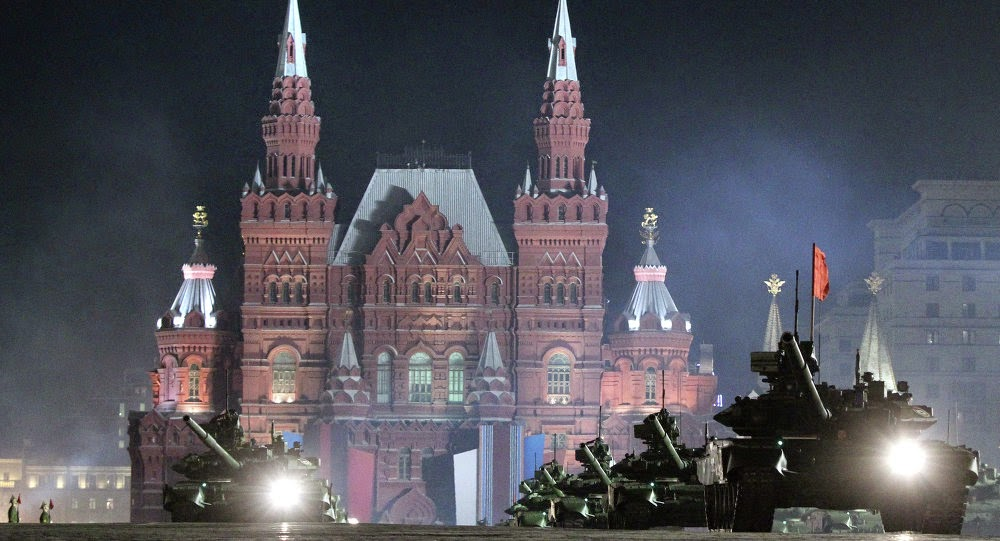 Russia's Military Trains For World War 3