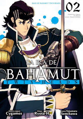 Manga: Review de La ira de Bahamut: Twin Heads VOL.2 de Takamaru Semikawa y Ryota-H - Ediciones Babylon