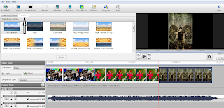 Software video editing