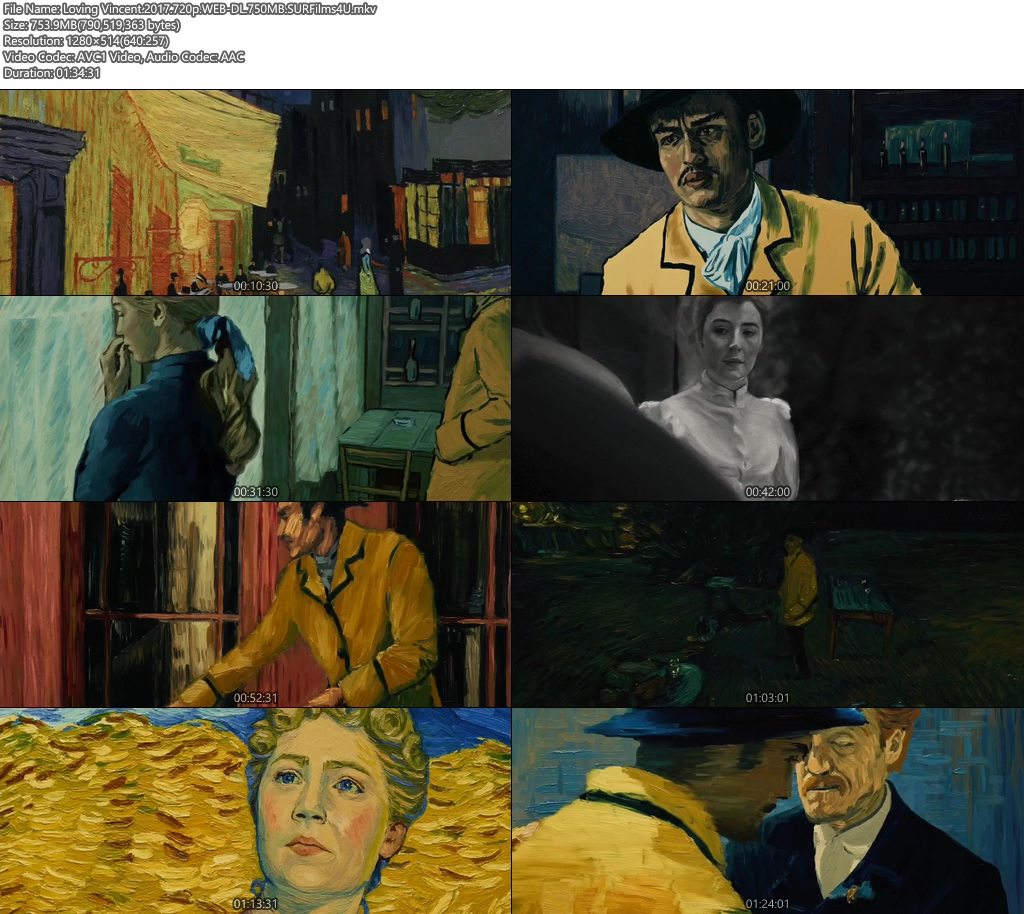 Loving Vincent 2017 720p WEB-DL 750MB Screenshot