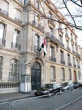 رقم تليفون عنوان سفارة قنصليه جمهورية مصر العربية في فرنسا