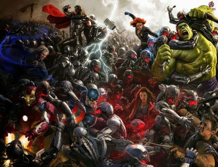 Marvel'in Süper Kahramanlarının Oynadığı Yenilmezler Ultron Çağı Videosu Yayınlandı