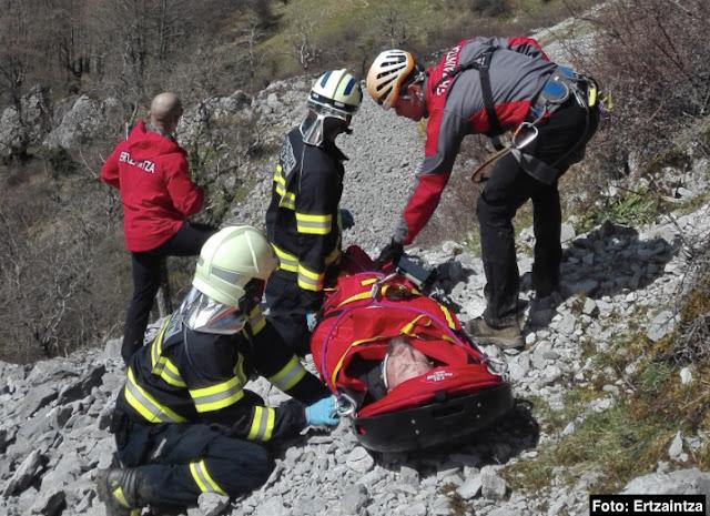 rescate montañero barakaldés