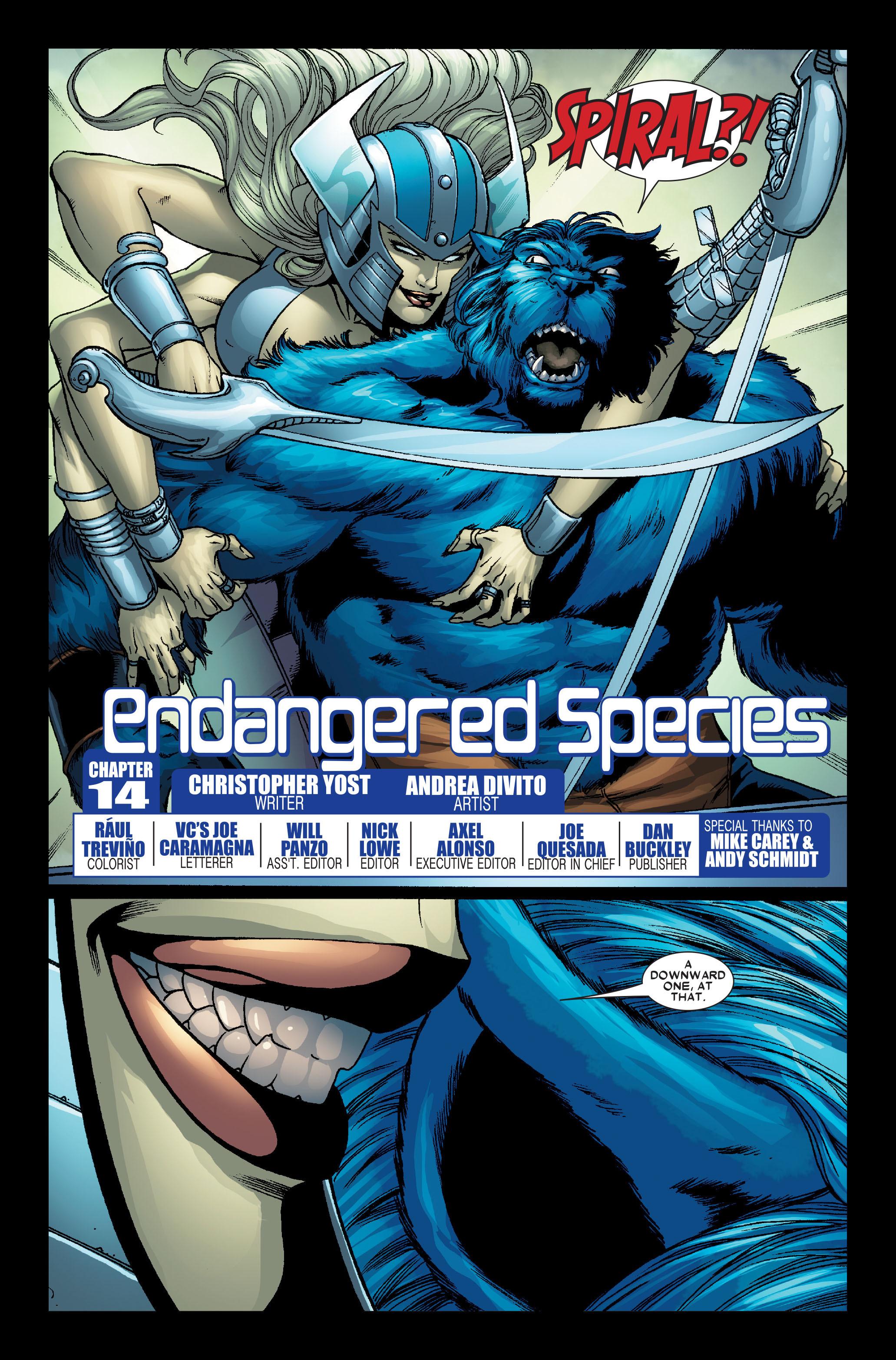Read online Uncanny X-Men (1963) comic -  Issue #491 - 26