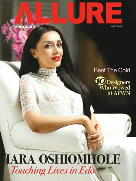 Stunning Beauty! First Lady, Iara Oshiomhole is Flawless on the Covers of Vanguard Allure (Photos)