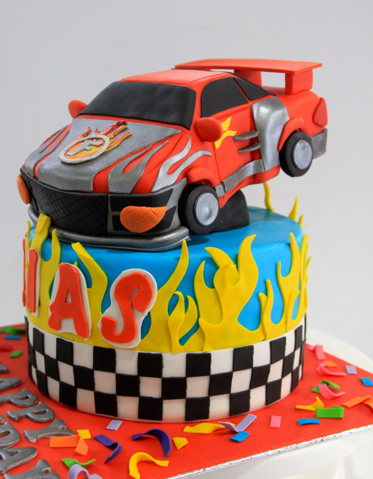 race car birthday cake celebrate with cake flash and dash racing car cake 6938